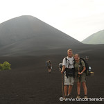 Audrey & Dan Hiking a Volcano - Nicaragua