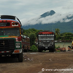 Local Bus Depot - Granada, Nicaragua