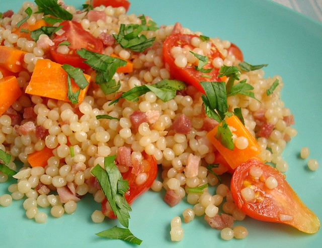 Israeli Couscous with Carrots and Tomatoes   Flickr ...