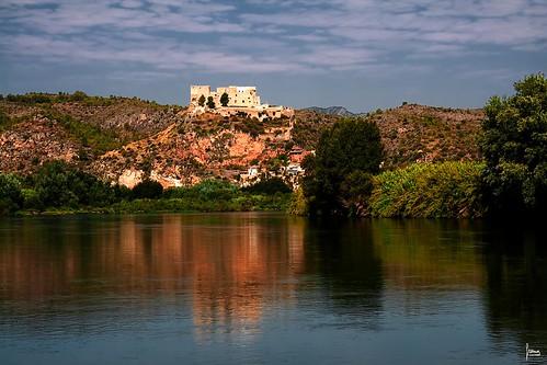 rio canon catalunya ebro castillo cataluña reflejos castell miravet freina franciscoreina