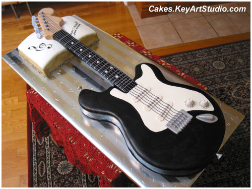 guitar templates for cakes - electric guitar cake a photo on flickriver