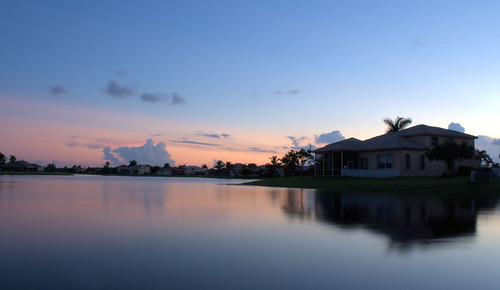 Sunset over Suburbia I (Boca Raton, FL)