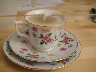 Teacup Candle by Rosie