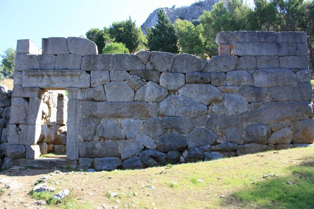 Tempel der Diana in Cefalu