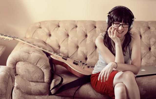 Recording Leah