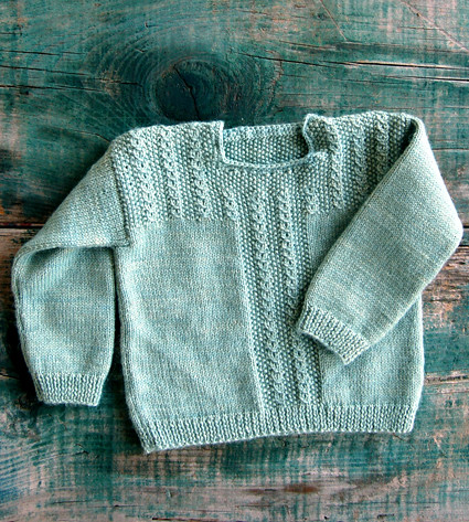 Fiddlehead Sweater from Kelbourne Woolens