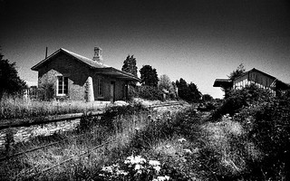 Abandoned Station, Killeagh Station, Co Cork, Ireland