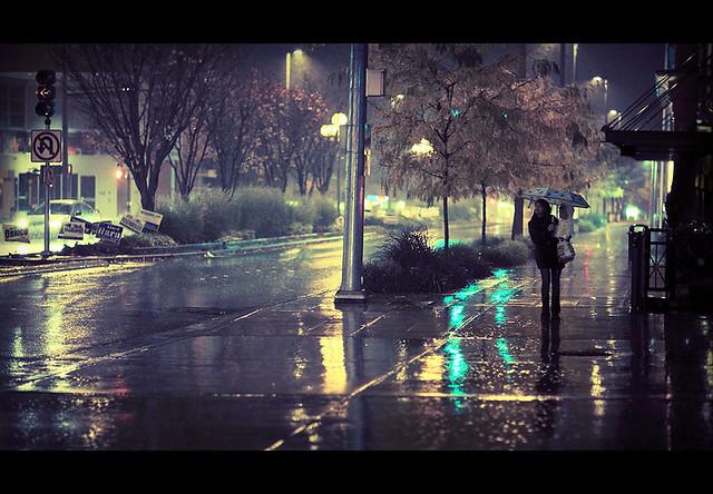 Rainy Bellevue