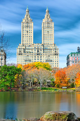 The San Remo from the Lake, Central Park, NYC
