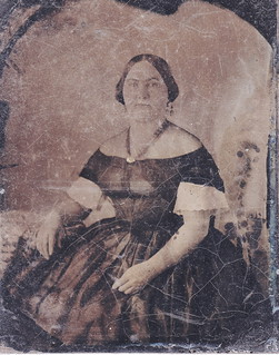 1850s Melainotype