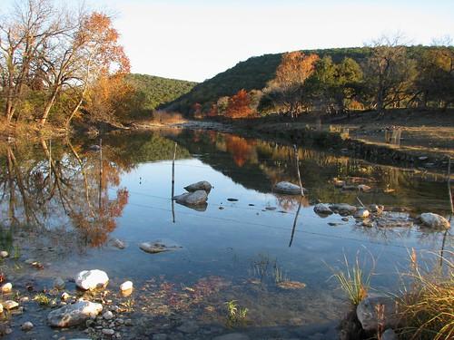reflection water creek texas hillcountry bullhead realcounty mlhradio bullheadcreek