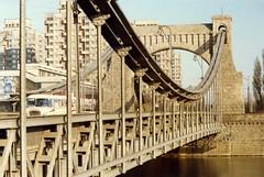 Wrocław - Grunwald Bridge, November 1989