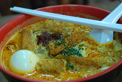 noodle(0.0), noodle soup(0.0), fish(0.0), katsudon(0.0), laksa(0.0), meal(1.0), curry(1.0), food(1.0), dish(1.0), soup(1.0), cuisine(1.0), gulai(1.0),