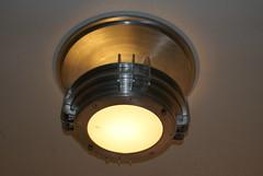 an old light fixture