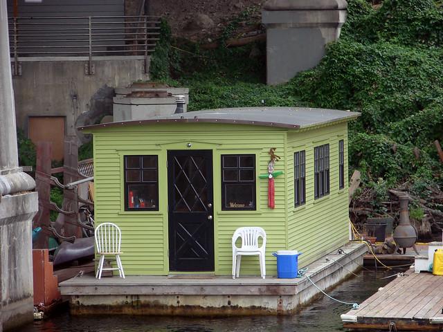 Tiny Houseboat Flickr Photo Sharing