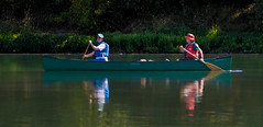 Mary & Karen on the Willamette River