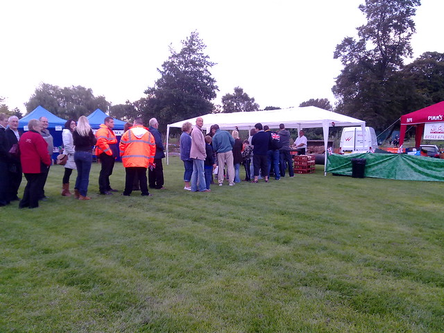The hogroast queue