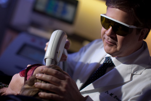 Dr Braun Performing Laser Hair Removal | by Vancouver Laser & Skincare Centre