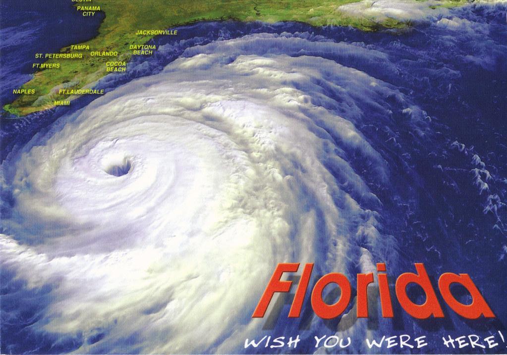 Hurricane Floyd Postcard