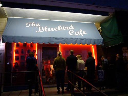 Bluebird Cafe in Nashville