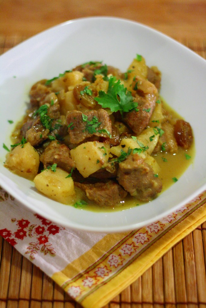 Colombo de porc aux coings raisins secs cuisine for Cuisine orientale
