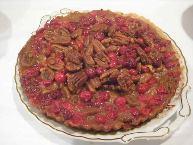 Cranberry caramel pecan tart | Explore Alexandra Moss' photo ...