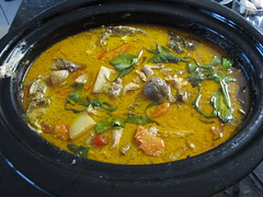 produce(0.0), stew(1.0), curry(1.0), vegetable(1.0), food(1.0), korma(1.0), dish(1.0), soup(1.0), cuisine(1.0),