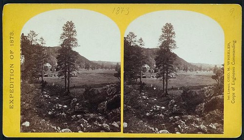 Cooley's Ranch, 10 miles east of Camp Apache, Arizona. (LOC)