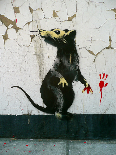 BANKSY - If Graffiti Changed Anything...