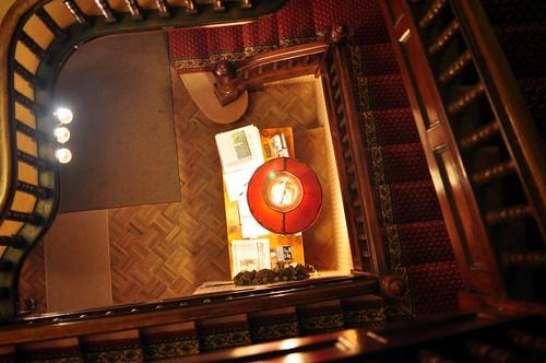 lamp stairs catskills scr riverrunbb