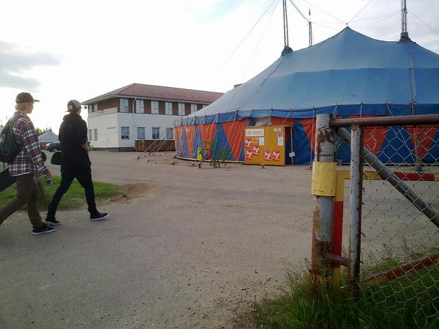 Carpa del festival