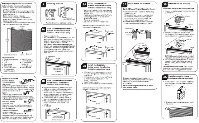 Levolor Accordia Cellular Shades Instructions Pwdr0142