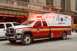 FDNY 109 Dodge Ram Ambulance