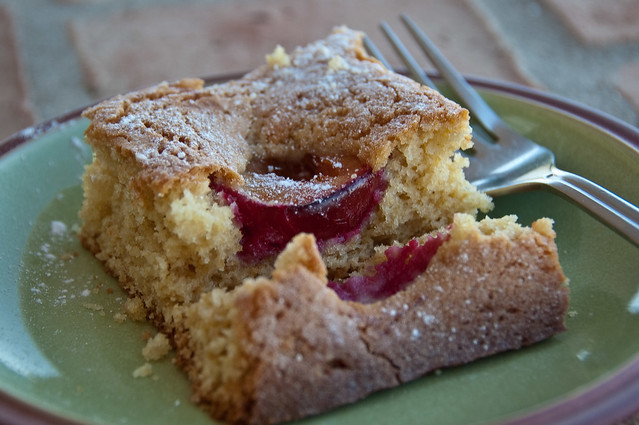 Dimply Plum Cake | I saved a slice for you. Recipe from tar ...