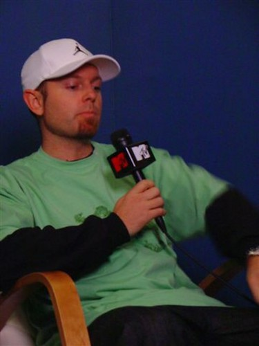 DJ Shadow on MTV