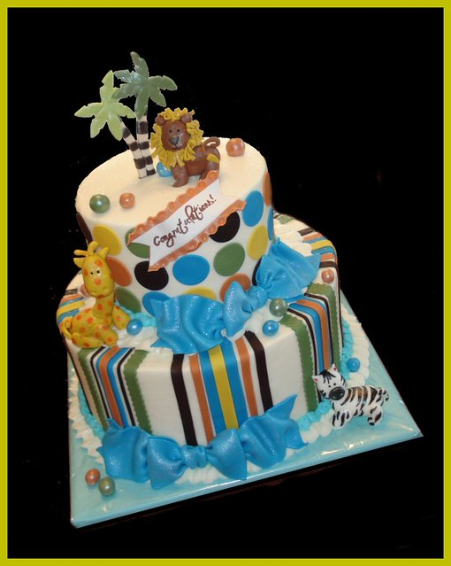 jungle baby shower cake explore atasteofwhimsy 39 s photos on