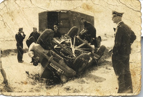My granfather's Ford WOC-1 after fatal accident in 1944