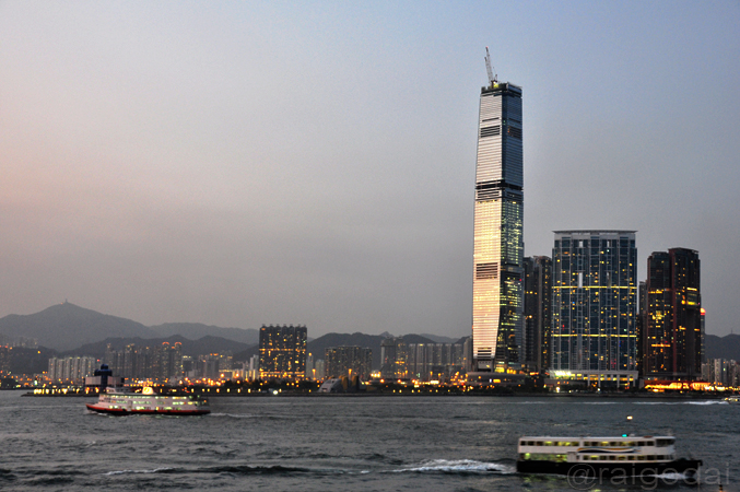 ICC tower in progress : Tallest in hong kong