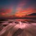 Long Exposure Sunrise ::Vertorama by DolliaSH