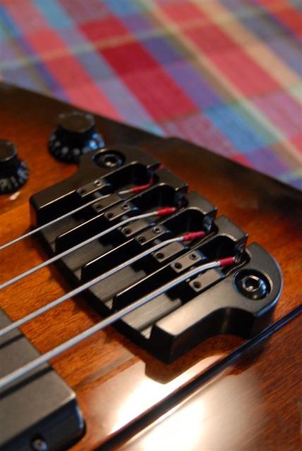 For Ben Hull #3 - Hipshot bridge! | My cheapest bass  But it