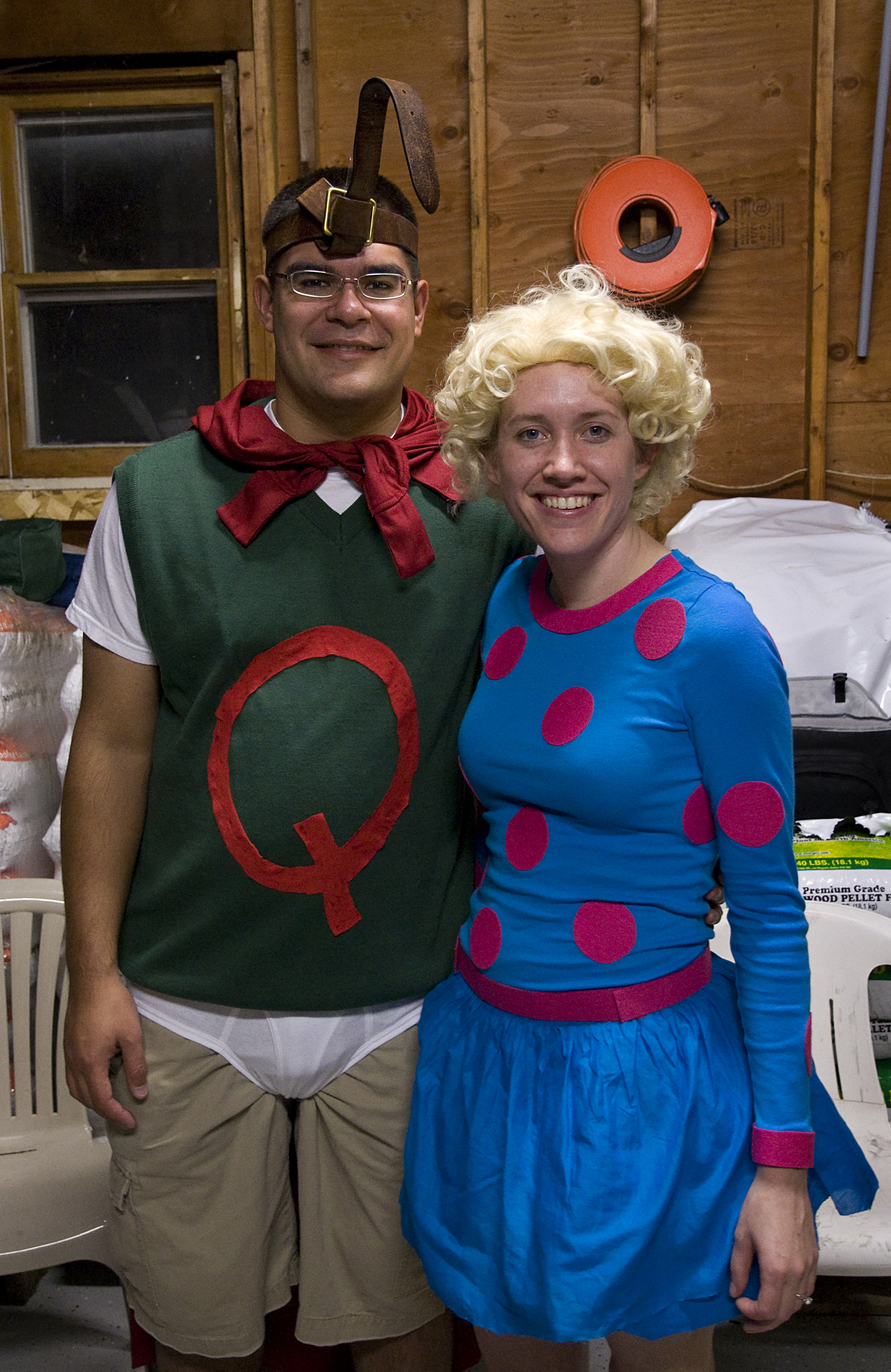 The gallery for --> Patti Mayonnaise Halloween Costume Quailman And Patty Mayonnaise
