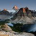 Mt. Assiniboine Bids Farewell to Another Day