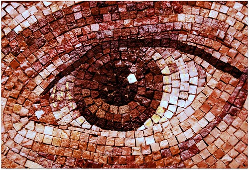 The eye of intrigue....