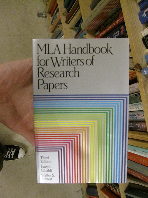 meals handbook for writers of research papers