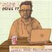 The Blogger. by David Fullarton