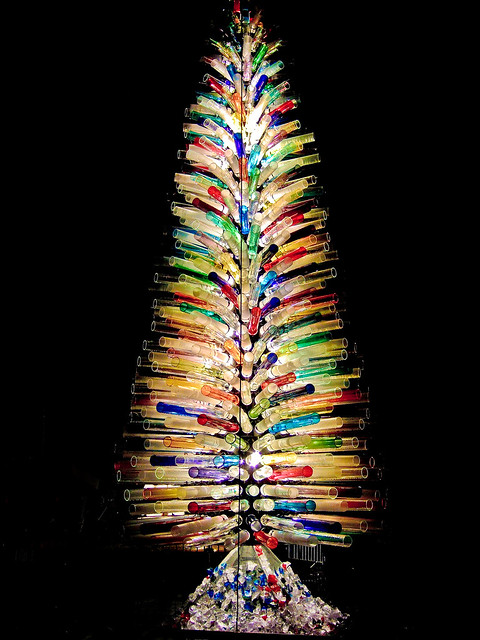 Christmas tree made of murano glass flickr photo sharing - Murano glass christmas tree ...