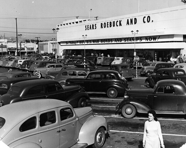 Sears Los Angeles Pico Blvd 1943 Flickr Photo Sharing