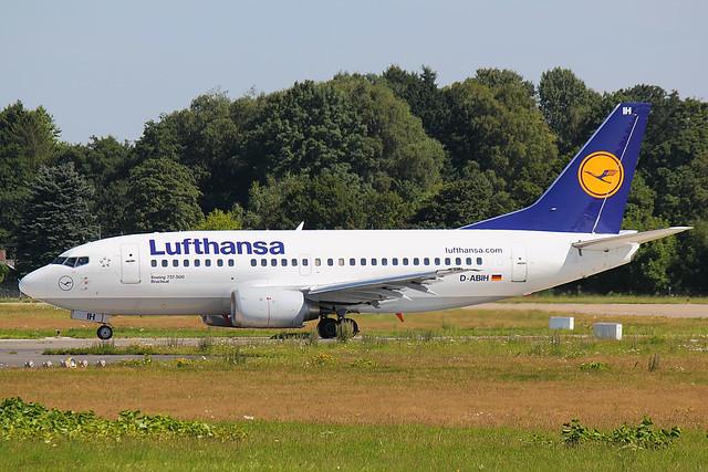 Lufthansa - B735 - D-ABIH (1)