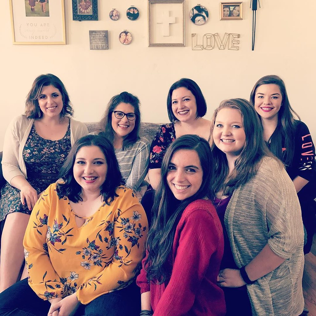 My first Galentine's Day with some of my favorite ladies!