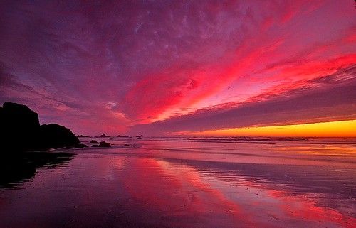 reflections washington sunsets beaches pacificnorthwest rubybeach olympicnationalpark alemdagqualityonlyclub